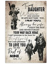Daughter - Hunting - Wherever Your Journey In 16x24 Poster front