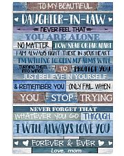 MOM TO DAUGHTER IN LAW 16x24 Poster front
