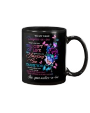 To My Daughter-in-law - Galaxy Flower - Circus Mug front