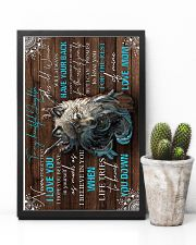 To My Daughter - Wolf - Never Forget That I   16x24 Poster lifestyle-poster-8