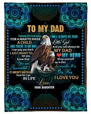 To my Dad - Fleece Blanket Fleece Blanket tile