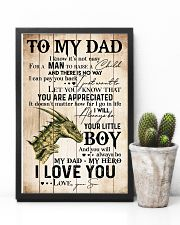 TO MY DAD - DRAGON - MY HERO 16x24 Poster lifestyle-poster-8