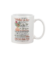 TO MY MOTHER-IN-LAW - KING PROTEA Mug front