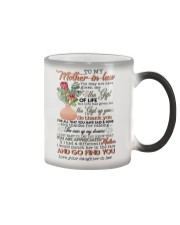 TO MY MOTHER-IN-LAW - KING PROTEA Color Changing Mug thumbnail