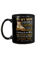 MUG - TO MY MOM - LIONESS - YOU ARE APPRECIATED Mug back