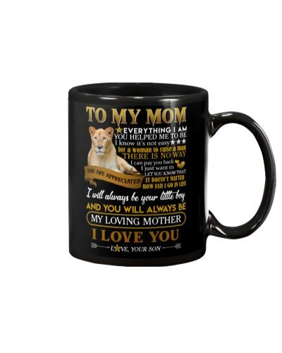 MUG - TO MY MOM - LIONESS - YOU ARE APPRECIATED
