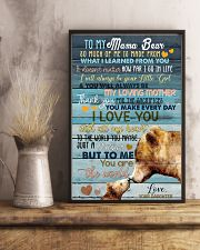 DAUGHTER TO MAMA BEAR 16x24 Poster lifestyle-poster-3