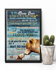 DAUGHTER TO MAMA BEAR 16x24 Poster lifestyle-poster-8