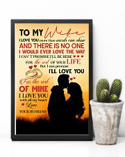 TO MY WIFE - COUPLE - I LOVE YOU 16x24 Poster lifestyle-poster-8