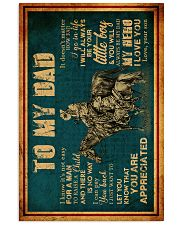 To My Dad - Horse Riding - Poster 16x24 Poster front