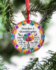 Granddaughter - Thanh You For Standing By My Side Circle ornament - single (porcelain) aos-circle-ornament-single-porcelain-lifestyles-07