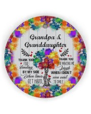 Granddaughter - Thanh You For Standing By My Side Circle ornament - single (wood) thumbnail