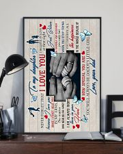 To Daughter - Hands - I Believe In Love At First 16x24 Poster lifestyle-poster-2