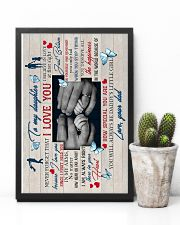 To Daughter - Hands - I Believe In Love At First 16x24 Poster lifestyle-poster-8