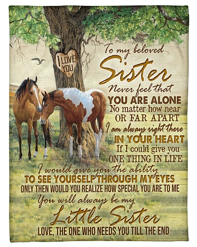 TO MY BELOVED SISTER - HORSE - HOW SPECIAL
