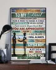 To My Dad - Vinatage - Poster 16x24 Poster lifestyle-poster-2