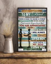 To My Dad - Vinatage - Poster 16x24 Poster lifestyle-poster-3