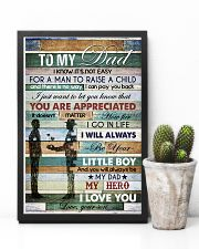 To My Dad - Vinatage - Poster 16x24 Poster lifestyle-poster-8