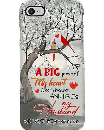 MY ANGEL HUSBAND - CARDINAL - LOVE YOU