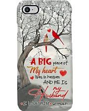 MY ANGEL HUSBAND - CARDINAL - LOVE YOU Phone Case i-phone-7-case