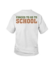 BORN TO BE - DINOS - SCHOOL Youth T-Shirt back