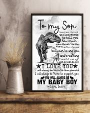 SON - DINO - SOMETIME IT'S HARD TO FIND WORDS 16x24 Poster lifestyle-poster-3