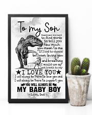 SON - DINO - SOMETIME IT'S HARD TO FIND WORDS 16x24 Poster lifestyle-poster-8