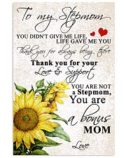 TO MY STEPMOM 11x17 Poster front