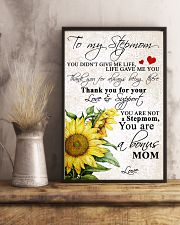 TO MY STEPMOM 11x17 Poster lifestyle-poster-3