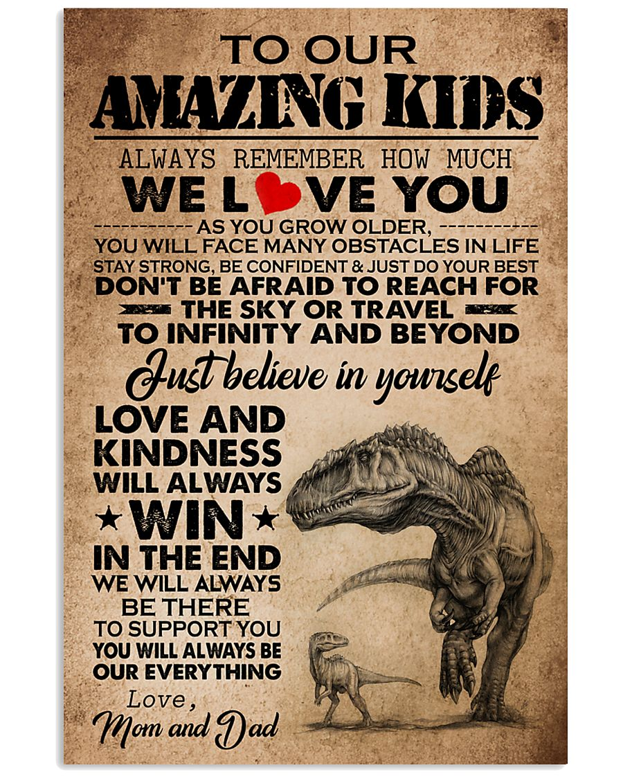 MOM AND DAD TO KIDS 16x24 Poster