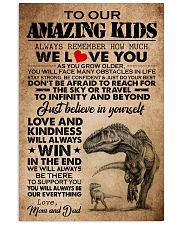 MOM AND DAD TO KIDS 16x24 Poster front