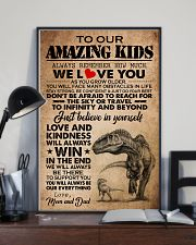 MOM AND DAD TO KIDS 16x24 Poster lifestyle-poster-2