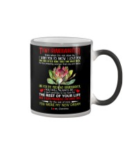 Grandma to Granddaughter - You Were My New Dream  Color Changing Mug tile