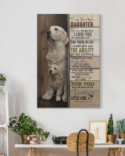 To My Daughter - Golden - Never Forget That 20x30 Gallery Wrapped Canvas Prints aos-canvas-pgw-20x30-lifestyle-front-03
