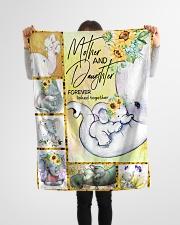 """FLEECE BLANKET - TO MY MOM - ELEPHANT Small Fleece Blanket - 30"""" x 40"""" aos-coral-fleece-blanket-30x40-lifestyle-front-14"""