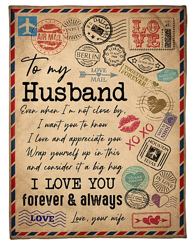 TO MY HUSBAND - VINTAGE - I LOVE YOU