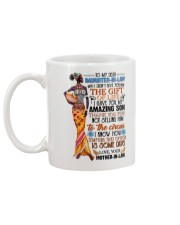 TO MY DAUGHTER-IN-LAW - AFRICAN WOMAN - CIRCUS Mug back