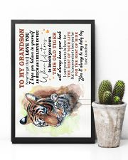 TO MY GRANDSON - I LOVE YOU 16x24 Poster lifestyle-poster-8