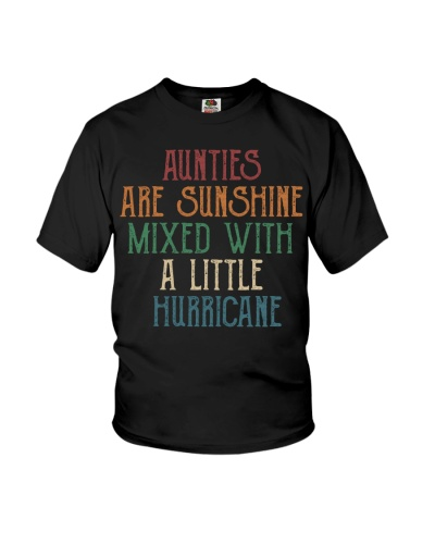 Aunties are sunshine mixed with a little hurricane