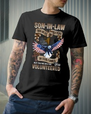 T-SHIRT - SON-IN-LAW - EAGLE - YOU VOLUNTEERED Classic T-Shirt lifestyle-mens-crewneck-front-6