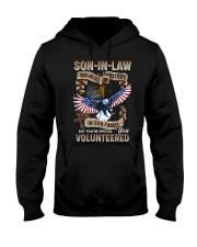 T-SHIRT - SON-IN-LAW - EAGLE - YOU VOLUNTEERED Hooded Sweatshirt thumbnail