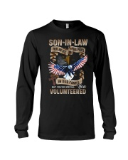 T-SHIRT - SON-IN-LAW - EAGLE - YOU VOLUNTEERED Long Sleeve Tee thumbnail