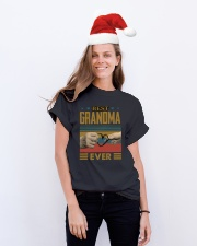 GRANDMA AND GRANDCHILDREN - TSHIRT Classic T-Shirt lifestyle-holiday-crewneck-front-1