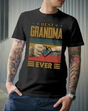 GRANDMA AND GRANDCHILDREN - TSHIRT Classic T-Shirt lifestyle-mens-crewneck-front-6