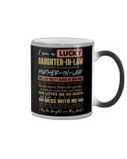 DAUGHTER-IN-LAW - FUNNY - T-SHIRT Color Changing Mug tile