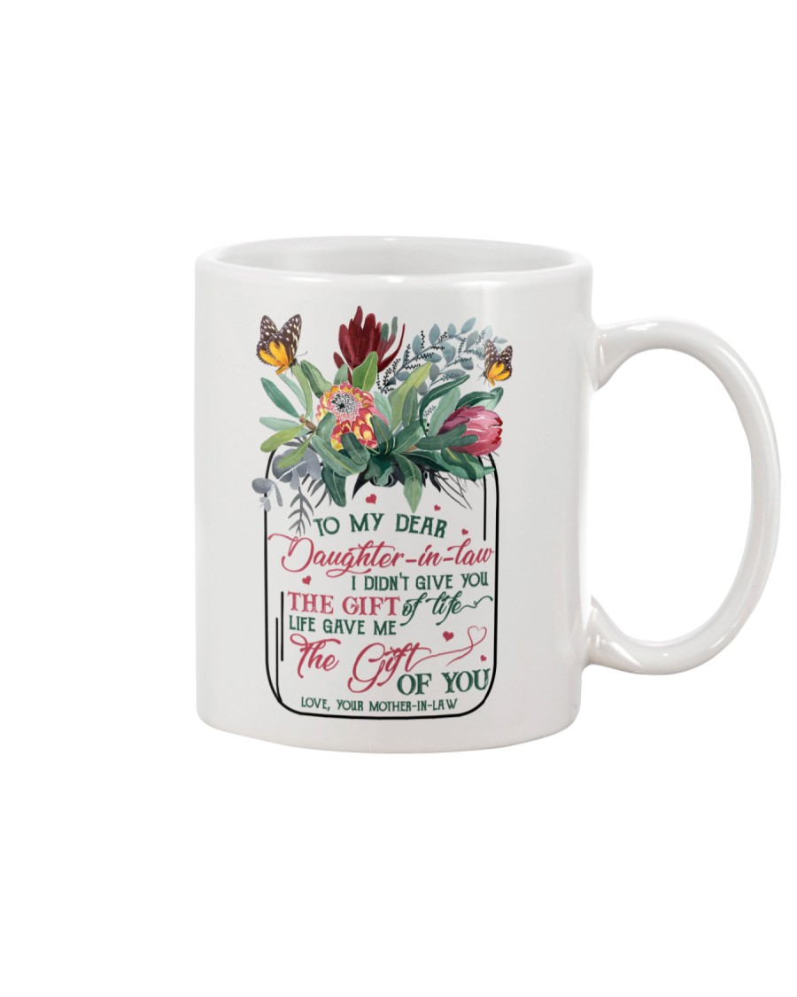 To My Daughter-in-law - Protea - Gift of Life Mug