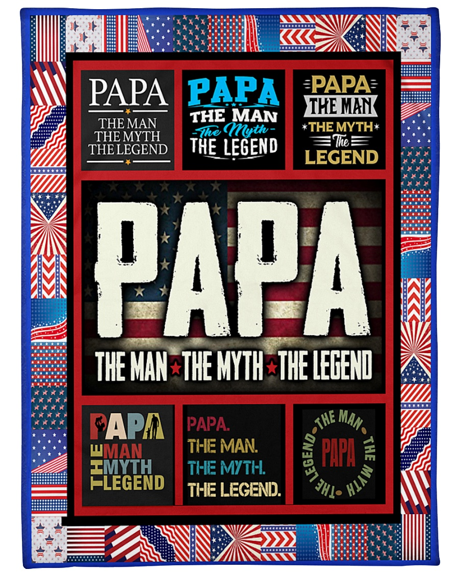 """PAPA Large Fleece Blanket - 60"""" x 80"""""""