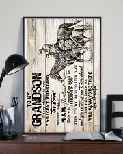 Grandpa to Grandson - I Will Always Be There  16x24 Poster lifestyle-poster-2
