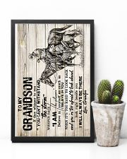 Grandpa to Grandson - I Will Always Be There  16x24 Poster lifestyle-poster-8