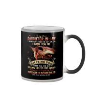 To My Daughter-in-law - Dragon - Circus - Mug Color Changing Mug tile